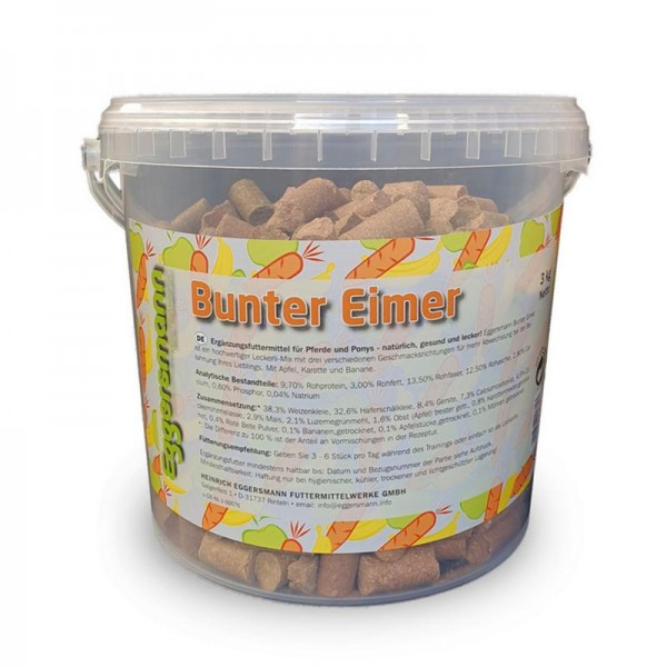 Lecker Bricks Bunter Eimer