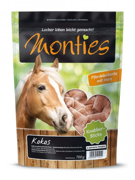 Monties Kokos Sticks