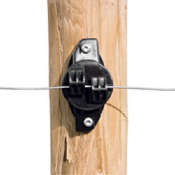 W-Isolator schwarz für Draht