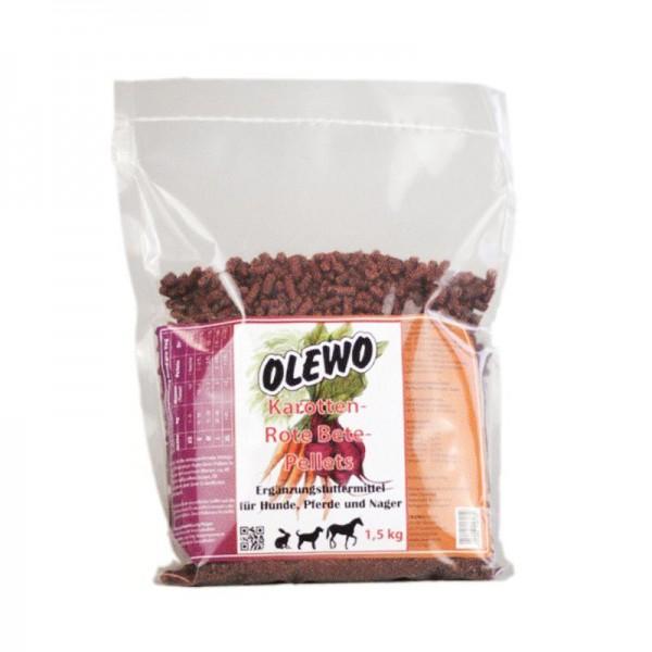 Karotten-Rote Beete-Pellets