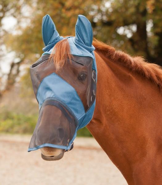 Fliegenmaske Premium mit Ohren- und Nasenschutz