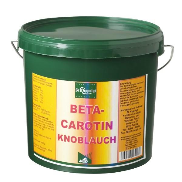 Betacarotin Knoblauch